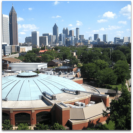 Atlanta GA City Guide featuring things to do, restaurants, shows, sports, discounts, and more