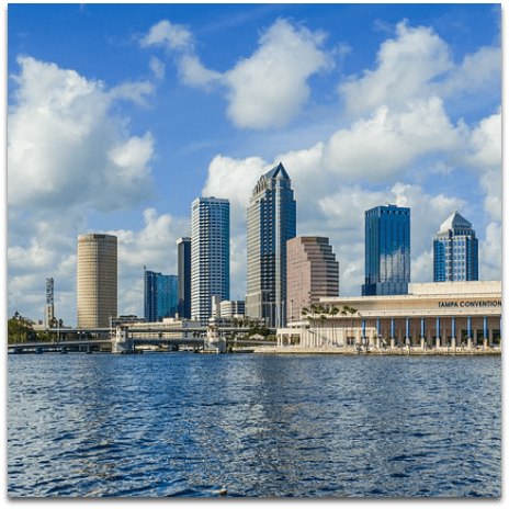 Tampa FL City Guide featuring things to do, restaurants, shows, sports, discounts, and more