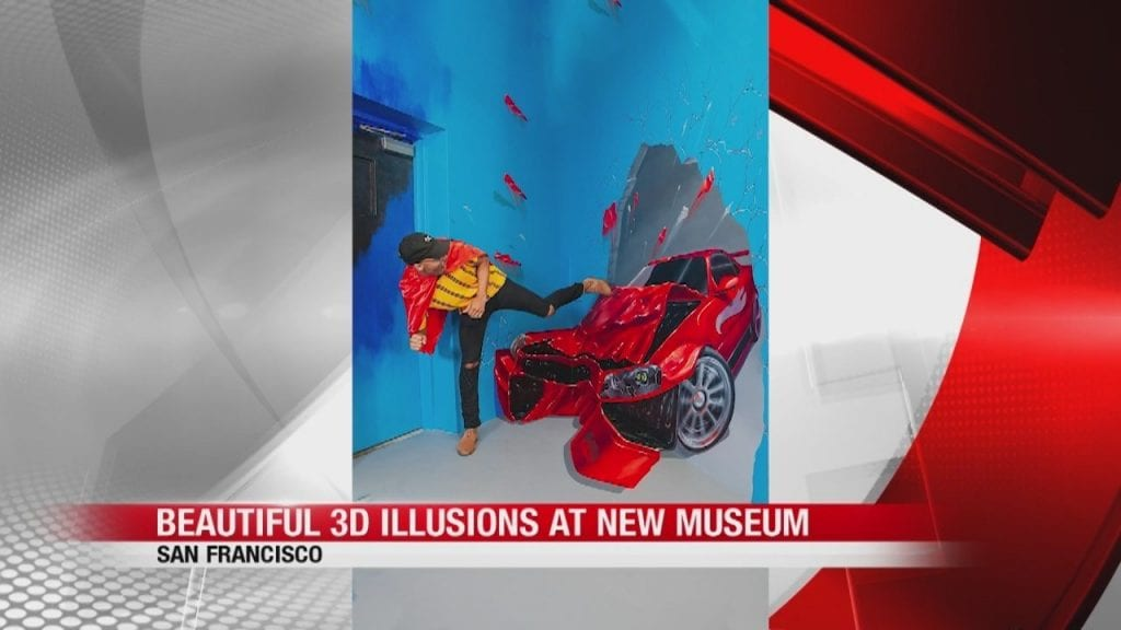 Museums of 3D illusions in San Francisco