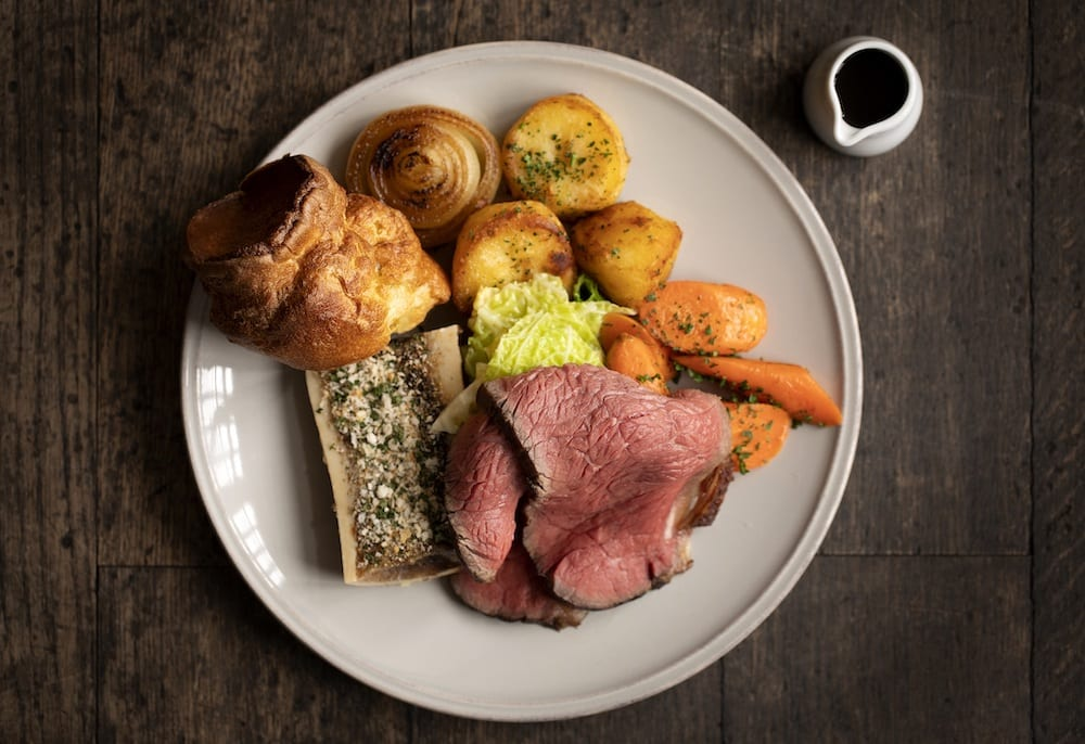 Sunday roast in London, The Swan London, best places for Sunday roast