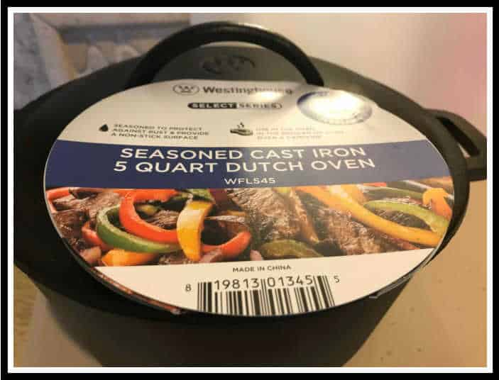 Dutch oven, Dutch oven for homemade bread